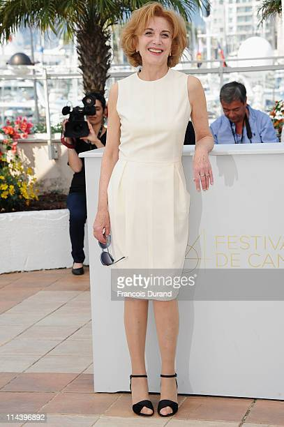 Actress Marisa Paredes attends The Skin I Live In Photocall at Palais des Festivals during the 64th Cannes Film Festival on May 19 2011 in Cannes...