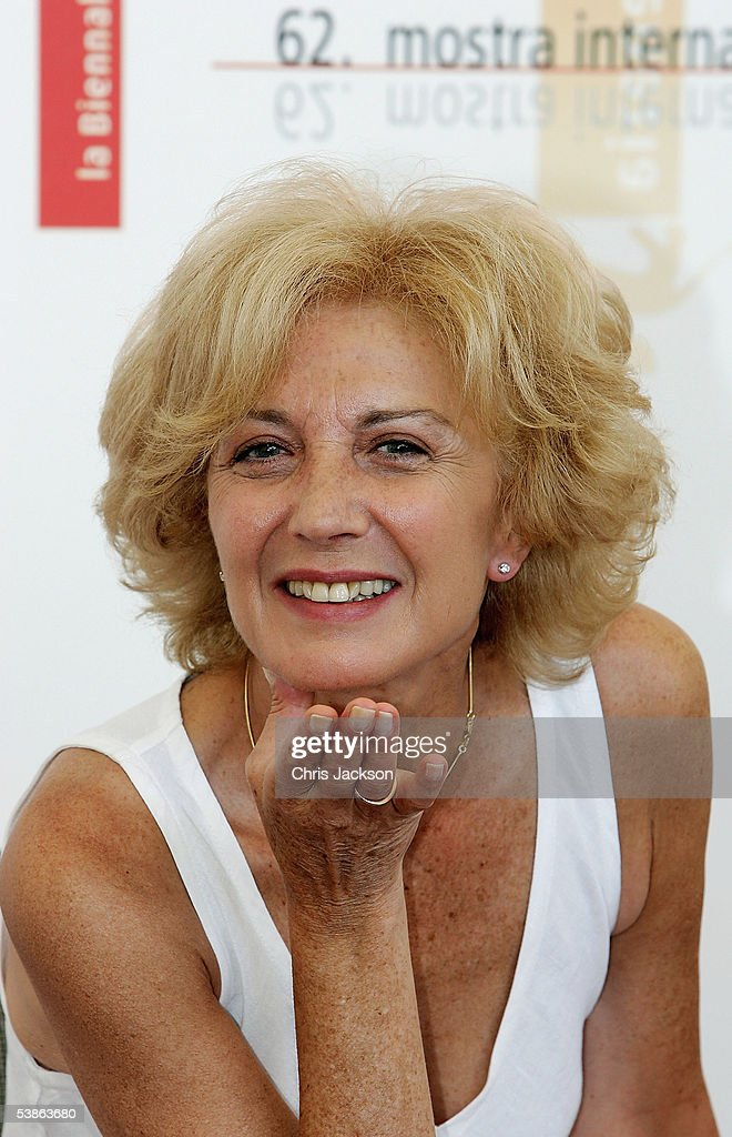 Actress Marisa Paredes blows a kiss at the photo call for 'Espelho Magico' as part of the 62nd Venice Film Festival on September 1, 2005 in Venice, Italy.