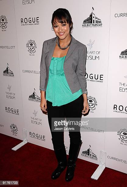 Actress Marisa Ramirez attends The Art of Elysium's Genesis event at HD Buttercup on October 10 2009 in Los Angeles California
