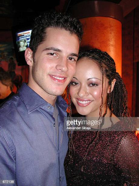 Actress Marisa Ramirez poses with her boyfriend Nathan Lavezoli at the Best Friends Lint Roller Party benefit for the Best Friends Animal Sanctuary...