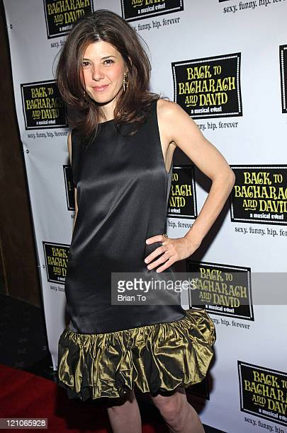 Actress Marisa Tomei arrives at Back to Bacharach and David Opening Night at The Music Box @ Fonda on April 19 2009 in Hollywood California