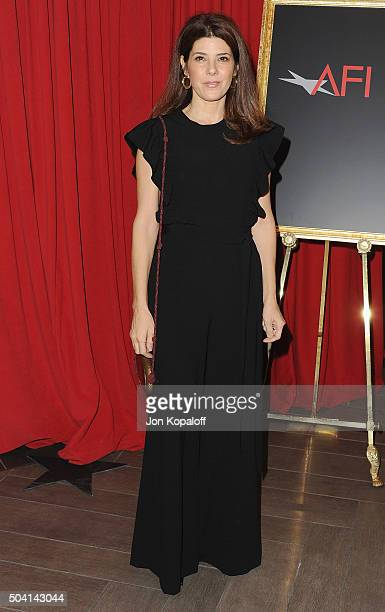 Actress Marisa Tomei arrives at the 16th Annual AFI Awards on January 8, 2016 in Los Angeles, California.
