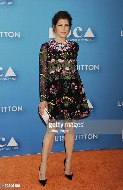 Actress Marisa Tomei arrives at the 2015 MOCA Gala presented by Louis Vuitton at The Geffen Contemporary at MOCA on May 30 2015 in Los Angeles...