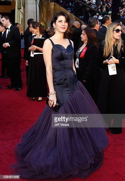 Actress Marisa Tomei arrives at the 83rd Annual Academy Awards held at the Kodak Theatre on February 27 2011 in Hollywood California