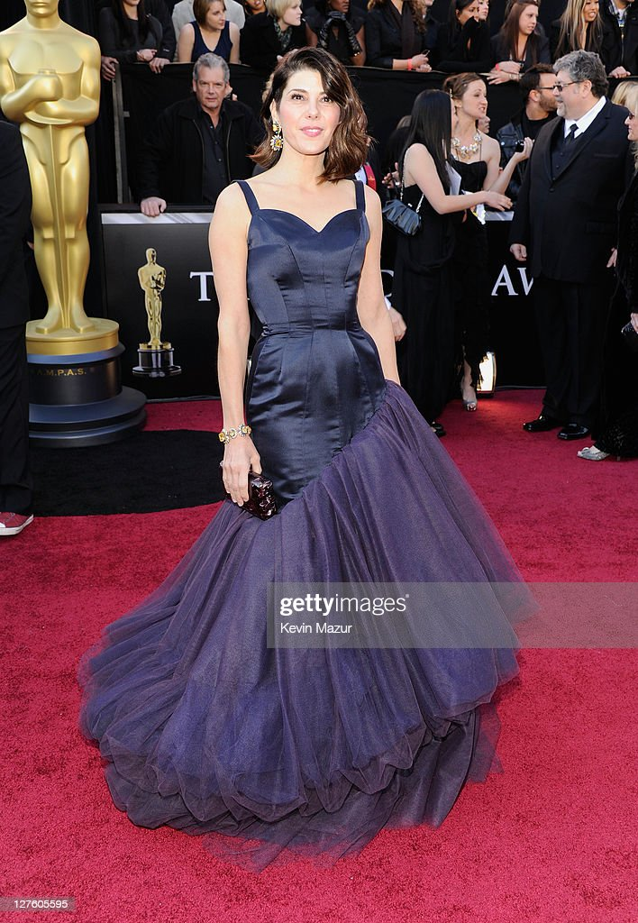 Actress Marisa Tomei arrives at the 83rd Annual Academy Awards held at the Kodak Theatre on February 27, 2011 in Hollywood, California.