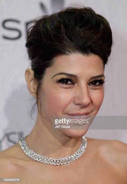 """Actress Marisa Tomei arrives at The Art of Elysium's 3rd Annual Black Tie Charity Gala """"Heaven"""" on January 16, 2010 in Beverly Hills, California."""