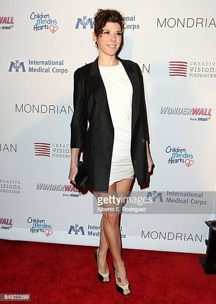 Actress Marisa Tomei arrives at the Children Mending Hearts gala honoring International Medical Corps at the House of Blues on February 18 2009 in...