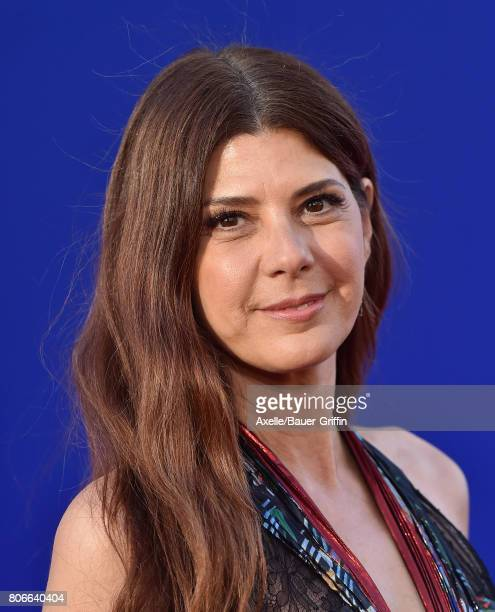Actress Marisa Tomei arrives at the premiere of Columbia Pictures' 'SpiderMan Homecoming' at TCL Chinese Theatre on June 28 2017 in Hollywood...