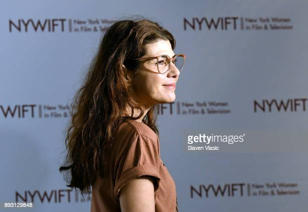 Actress Marisa Tomei attends 38th Annual Muse Awards at New York Hilton Midtown on December 14 2017 in New York City