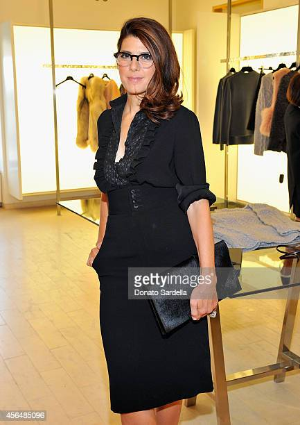 Actress Marisa Tomei attends a a private luncheon in honor of Co Designers Stephanie Danan and Justin Kern hosted by Barneys New York at Barneys New...