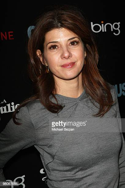 """Actress Marisa Tomei attends Don Julio Presents """"Cyrus"""" After Party on January 23, 2010 in Park City, Utah."""
