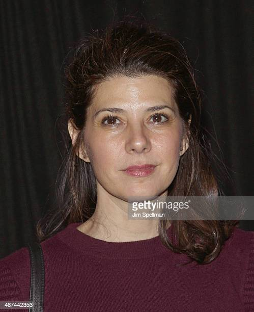 Actress Marisa Tomei attends the 2014 BAM Theater gala at Skylight One Hanson on February 6 2014 in the Brooklyn borough of New York City