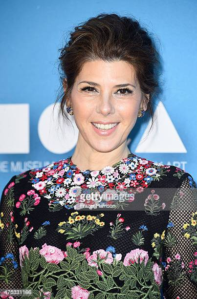 Actress Marisa Tomei attends the 2015 MOCA Gala presented by Louis Vuitton at The Geffen Contemporary at MOCA on May 30 2015 in Los Angeles...