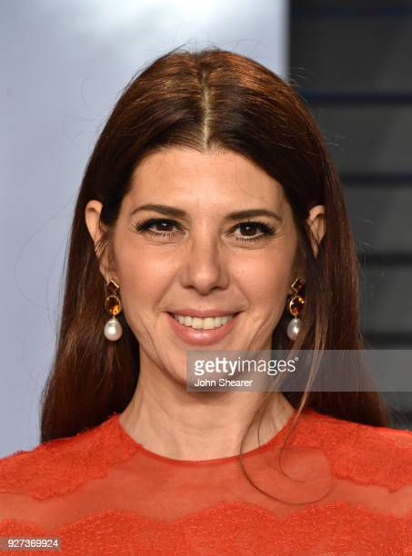 Actress Marisa Tomei attends the 2018 Vanity Fair Oscar Party hosted by Radhika Jones at Wallis Annenberg Center for the Performing Arts on March 4...