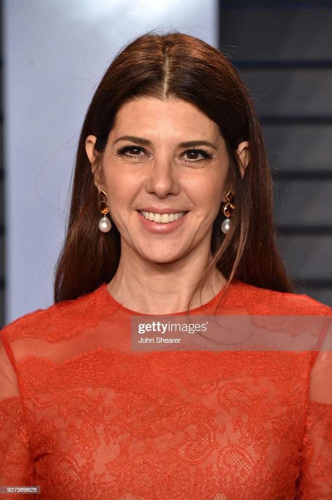 Actress Marisa Tomei attends the 2018 Vanity Fair Oscar Party hosted by Radhika Jones at Wallis Annenberg Center for the Performing Arts on March 4, 2018 in Beverly Hills, California.