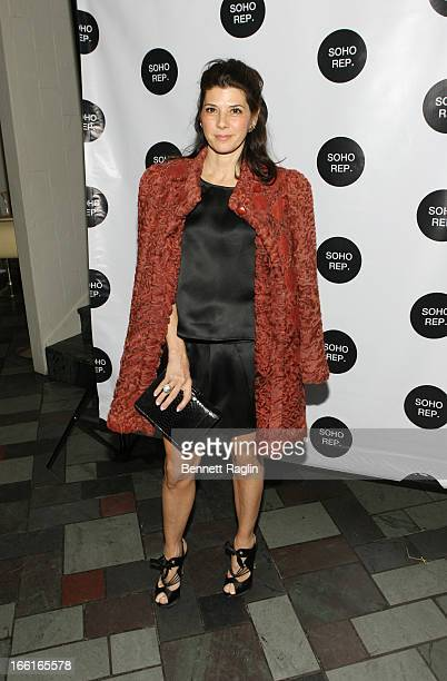 Actress Marisa Tomei attends the 36th Annual Soho Rep Spring Gala at Battery Garden Restaurant on April 8 2013 in New York City