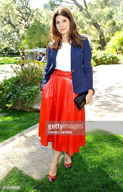 Actress Marisa Tomei attends the 3rd Annual DVF Oscar Luncheon honoring the female nominees of the 88th Academy Awards on February 24 2016 in Beverly...