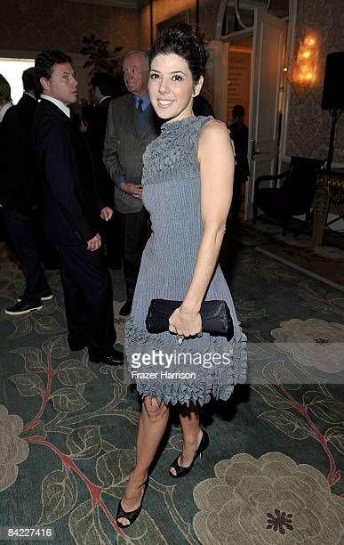 Actress Marisa Tomei attends the AFI Awards 2008 reception held at the Four Seasons Hotel on January 9 2009 in Los Angeles California