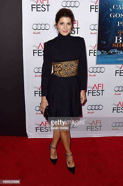 """Actress Marisa Tomei attends the closing night gala premiere of Paramount Pictures' """"The Big Short"""" during AFI FEST 2015 at TCL Chinese Theatre on..."""