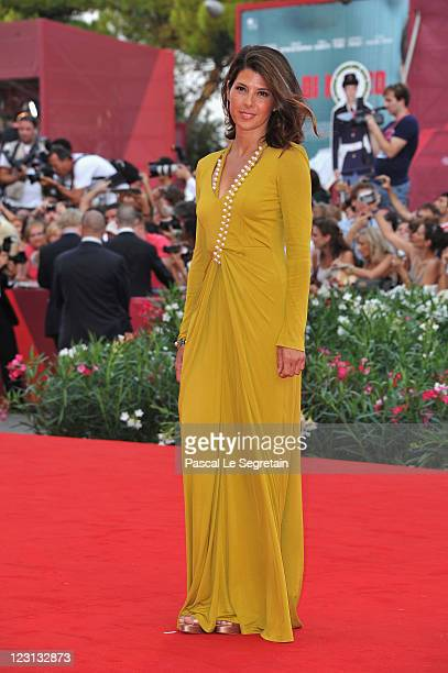 "Actress Marisa Tomei attends ""The Ides Of March"" premiere during the 68th Venice Film Festival at the Palazzo del Cinema on August 31, 2011 in..."