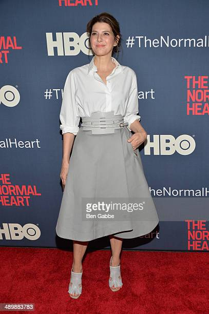 Actress Marisa Tomei attends the New York premiere of The Normal Heart at Ziegfeld Theater on May 12 2014 in New York City