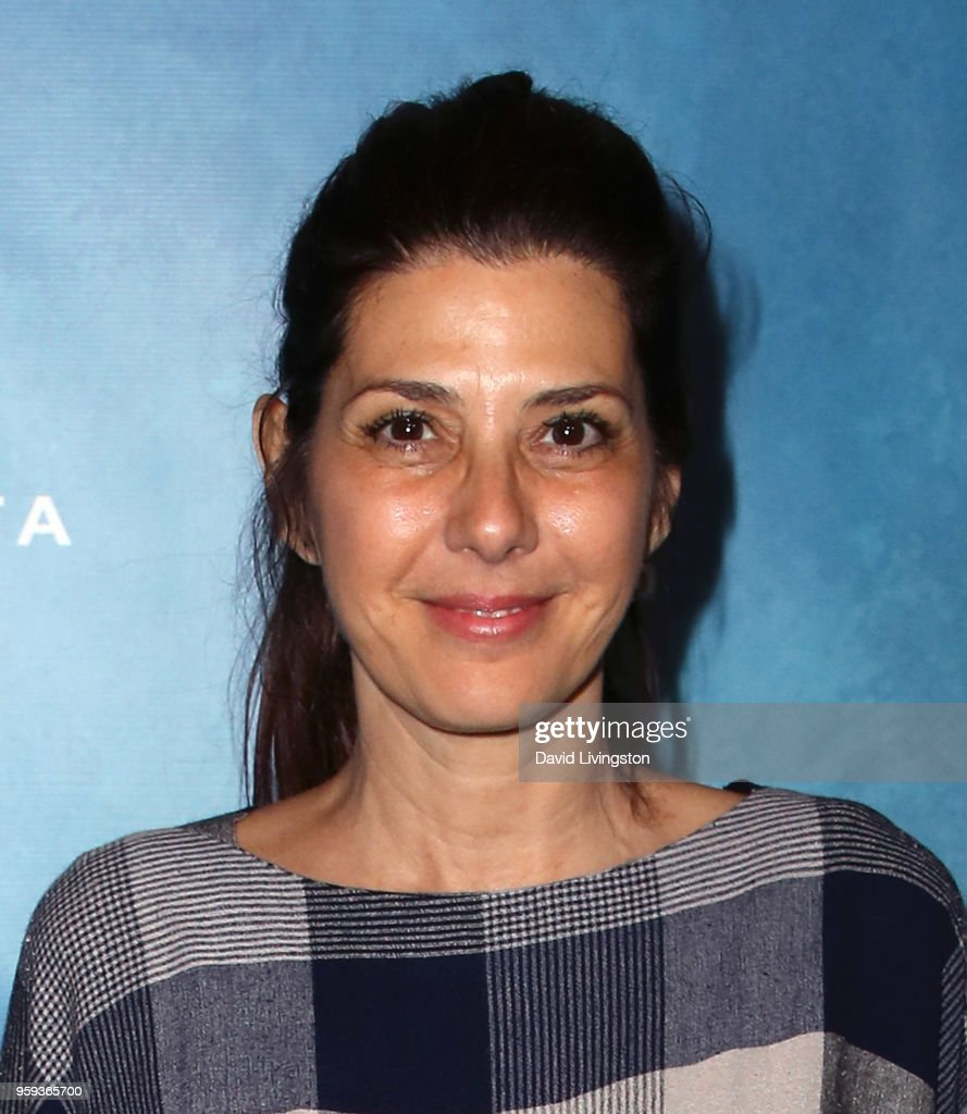 Actress Marisa Tomei attends the opening night of 'Soft Power' presented by the Center Theatre Group at the Ahmanson Theatre on May 16, 2018 in Los Angeles, California.