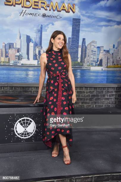 Actress Marisa Tomei attends the Spiderman Homecoming New York photo call at the Whitby Hotel on June 25 2017 in New York City