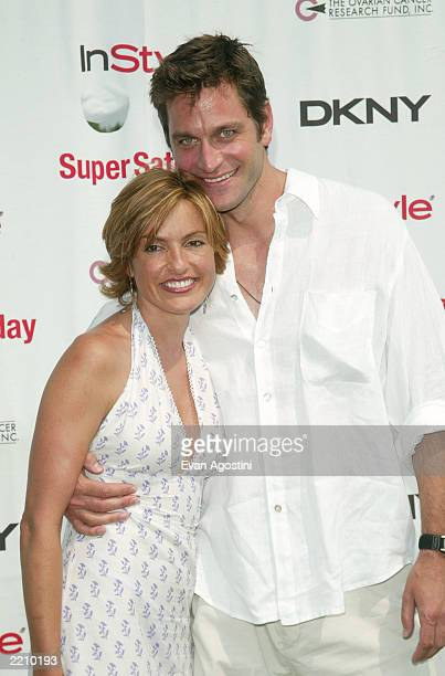 Actress Mariska Hargitay and boyfriend Peter Hermann attend Super Saturday 6 the annual designer sale and family event to benefit the Ovarian Cancer...