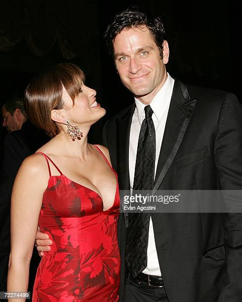 Actress Mariska Hargitay and husband Peter Hermann attend The Fashion Group International's 23rd Annual Night of Stars at Cipriani's 42nd Street...