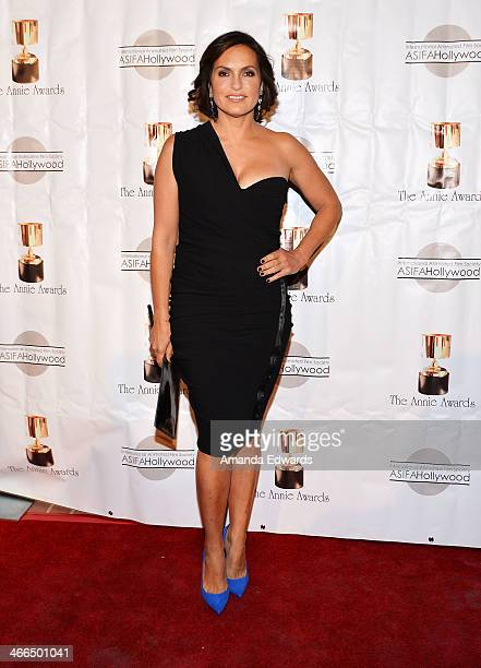 Actress Mariska Hargitay arrives at the 41st Annual Annie Awards at Royce Hall UCLA on February 1 2014 in Westwood California