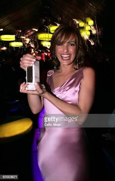 Actress Mariska Hargitay at the InStyle Golden Globe After Party at the Beverly Hilton Hotel on January 16, 2005 in Beverly Hills, California.