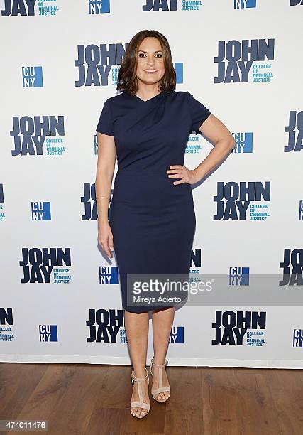 Actress Mariska Hargitay attends John Jay College 50th Anniversary Gala at John Jay College on May 19 2015 in New York City
