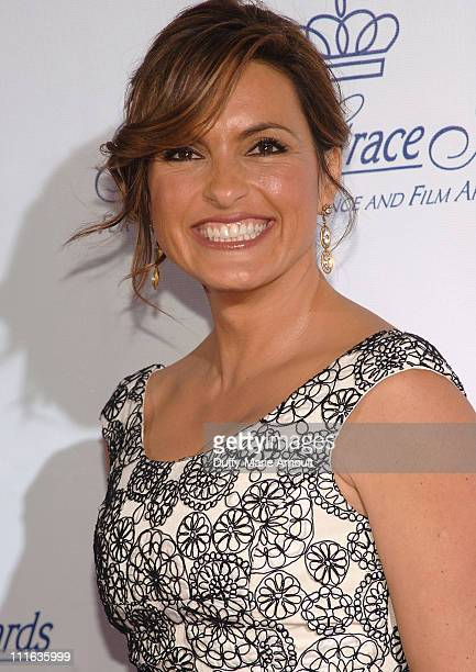 Actress Mariska Hargitay attends the 2008 Princess Grace awards gala at Cipriani 42nd Street on October 15 2008 in New York City