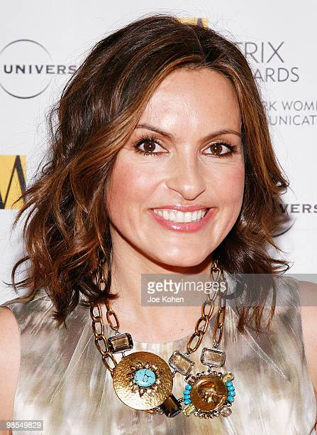 Actress Mariska Hargitay attends the 2010 Matrix Awards presented by New York Women in Communications at The Waldorf=Astoria on April 19 2010 in New...