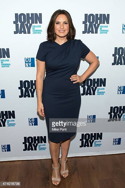 Actress Mariska Hargitay attends the John Jay College 50th Anniversary Gala at John Jay College on May 19 2015 in New York City