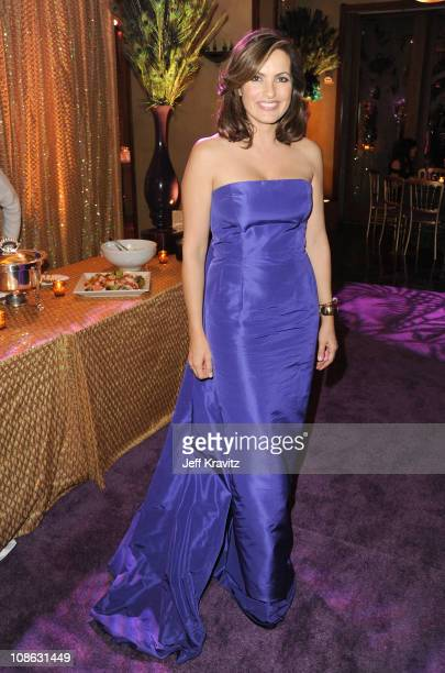 Actress Mariska Hargitay attends the official HBO SAG Awards after party held at at Spago on January 29 2011 in Beverly Hills California