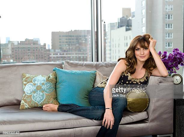 Actress Mariska Hargitay is photographed for Gotham Magazine in 2007 in New York City PUBLISHED IMAGE