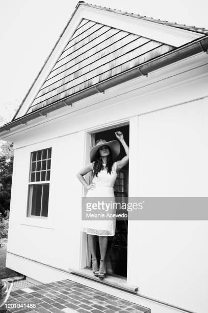 Actress Mariska Hargitay is photographed for Hamptons Magazine on June 13 2013 in East Hampton New York