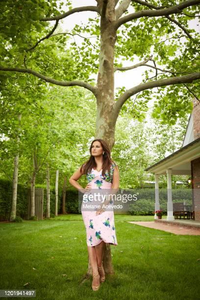 Actress Mariska Hargitay is photographed for Hamptons Magazine on June 13 2013 in East Hampton New York PUBLISHED IMAGE