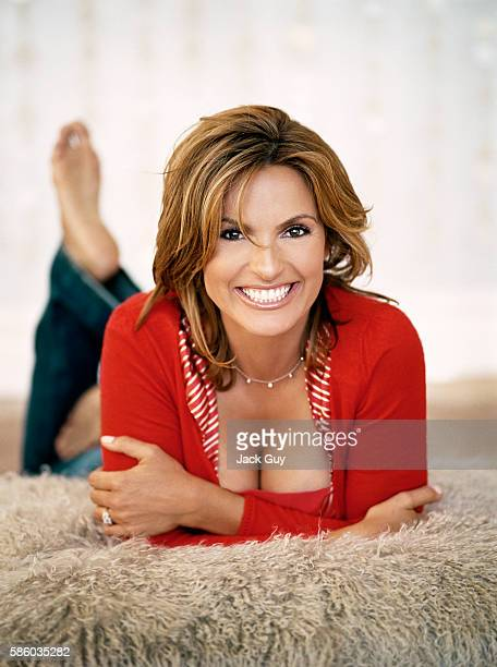 Actress Mariska Hargitay is photographed for Redbook Magazine in 2005 in New York City PUBLISHED IMAGE