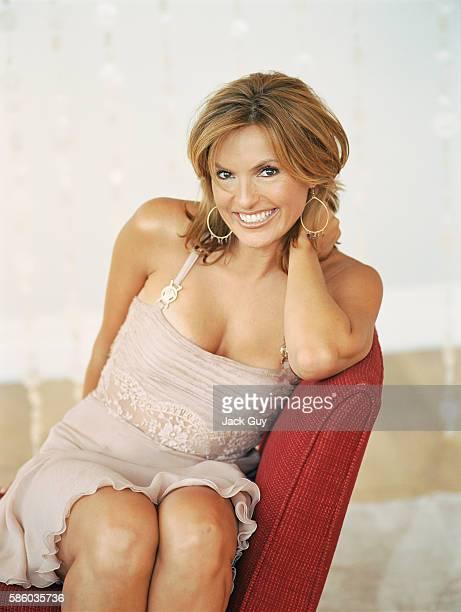 Actress Mariska Hargitay is photographed for Redbook Magazine in 2005 in New York City
