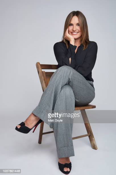 Actress Mariska Hargitay of NBC's Law Order SVU poses for a portrait during the 2018 Tribeca TV Festival on September 20 2018 in New York City
