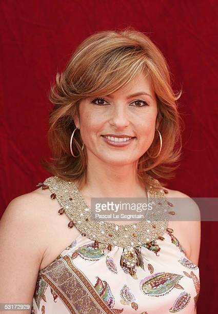 Actress Mariska Hargitay poses during a photo call at the 45th Television Festival of Monte Carlo on June 30 2005 in Monte Carlo