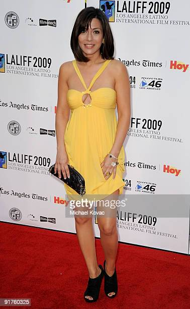 Actress Marisol Nichols arrives at the 13th Annual Los Angeles Latino International Film Festival at Grauman's Chinese Theatre on October 11 2009 in...