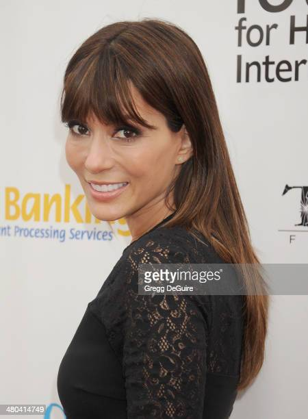Actress Marisol Nichols arrives at the Youth For Human Rights International Celebrity Benefit at Beso on March 24 2014 in Hollywood California