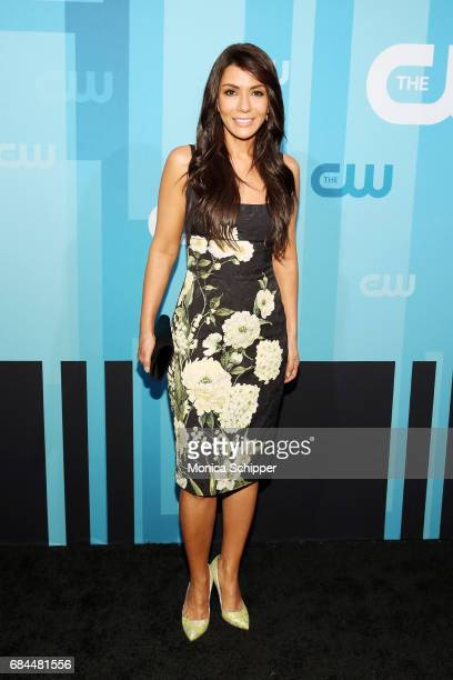Actress Marisol Nichols attends the 2017 CW Upfront on May 18 2017 in New York City
