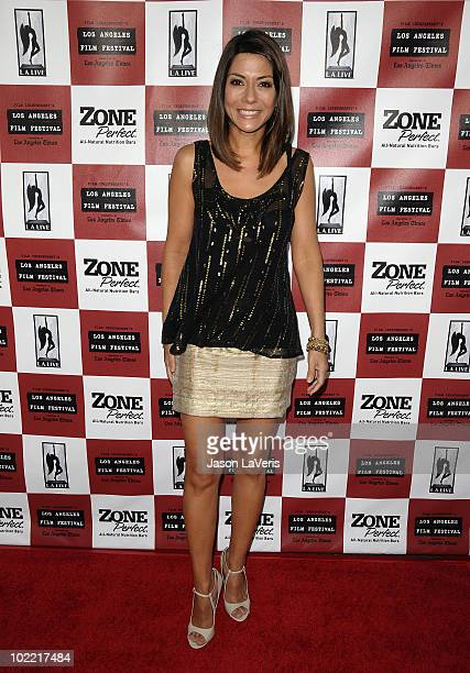 Actress Marisol Nichols attends the premiere of Cyrus at Regal 14 at LA Live Downtown on June 18 2010 in Los Angeles California