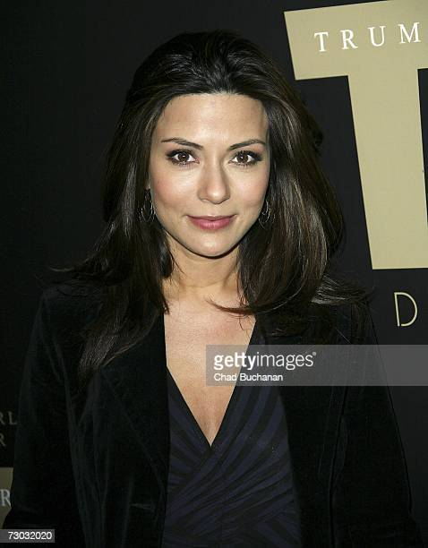 Actress Marisol Nichols attends Trump Vodka launch party at Les Deux on January 17, 2007 in Los Angeles, California.