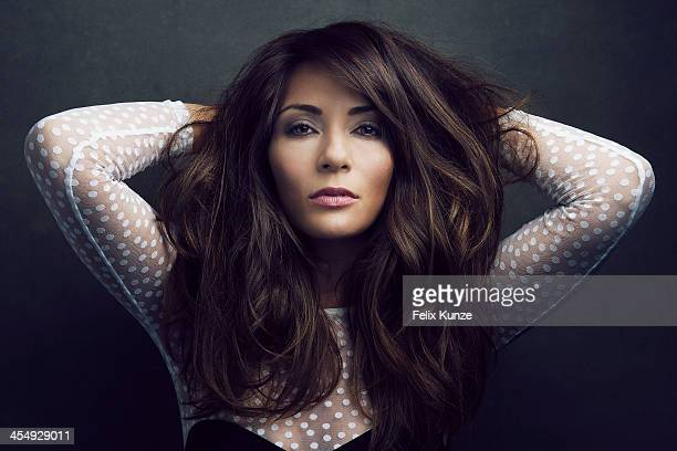 Actress Marisol Nichols is photographed for Self Assignment on March 23 2013 in Los Angeles California