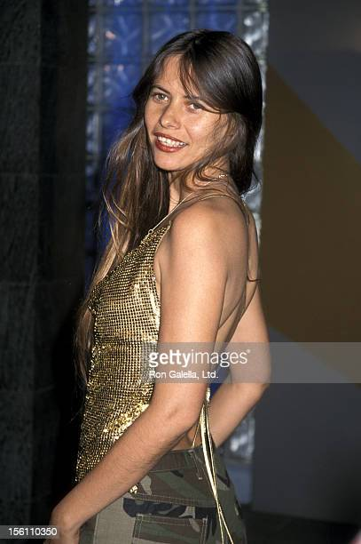 Actress Marisol Sanchez attends the Premiere of 'Amores Perros' on March 27 2001 at the Galaxy Theater in Hollywood California